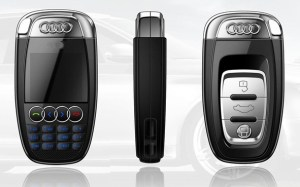 Audi-Key-Mini-Cell-Phone-A7