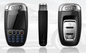 Audi-Key-Mini-Cell-Phone-A7